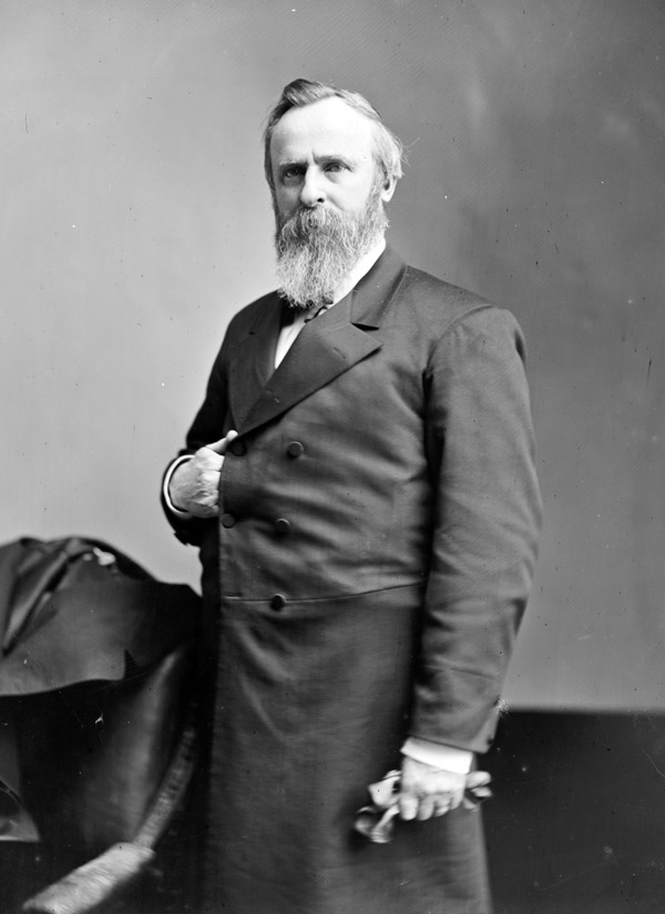 An analysis of the electoral dispute between rutherford b hayes and samuel j tilden in 1876