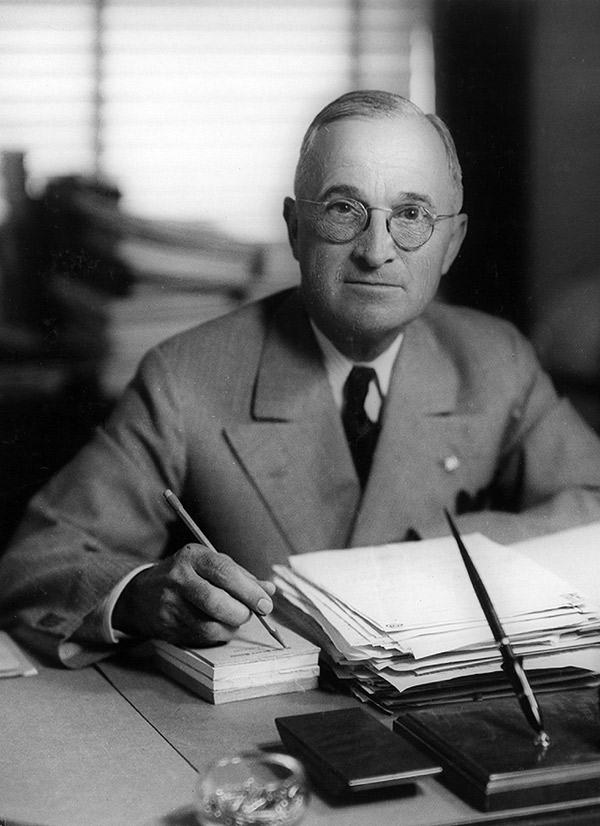 "truman doctrine By christopher mcknight nichols on 22 may 1947, president harry truman signed the formal ""agreements on aid to greece and turkey,"" the central pillars of what became known as the ""truman."
