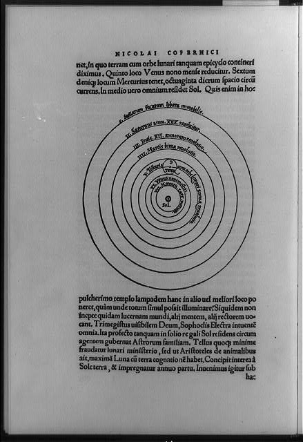 an analysis of nicolaus copernicuss theories on the revolutions of celestial spheres Copernican system  the slippage of the calendar with regard to celestial events was a very serious problem  on the revolutions of the heavenly spheres.
