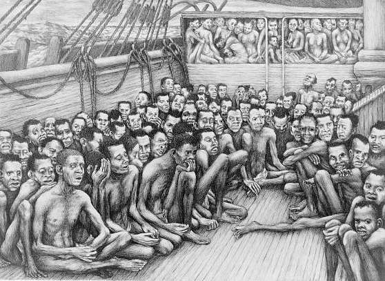 An account of the slave trade on the coast of africa document text