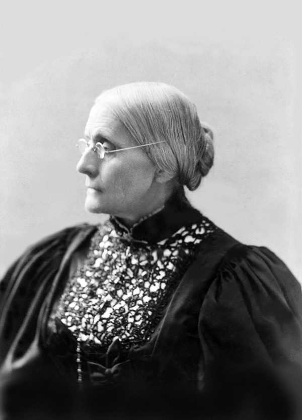 susan b anthony quotes. Susan B. Anthony (Library of