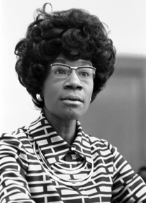 "Image for: Shirley Chisholm: ""The Black Woman in Contemporary America"""