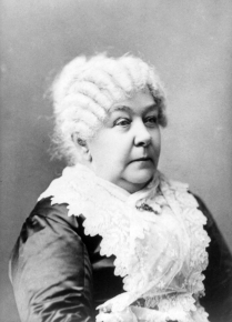 Image for: Elizabeth Cady Stanton: Speech for the Anniversary of the American Anti-Slavery Society
