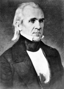 Image for: James Polk: Farewell Message to Congress