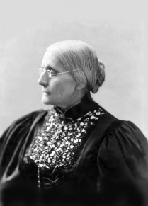 Image for: Susan B. Anthony: Letters concerning Casting a Vote in the 1872 Federal Election
