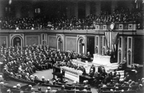 Image for: Woodrow Wilson: Address to Congress Leading to a Declaration of War against Germany