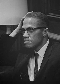 "Image for: Malcolm X: ""After the Bombing"""