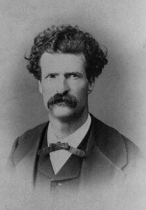 "Image for: Mark Twain: ""To the Person Sitting in Darkness"""